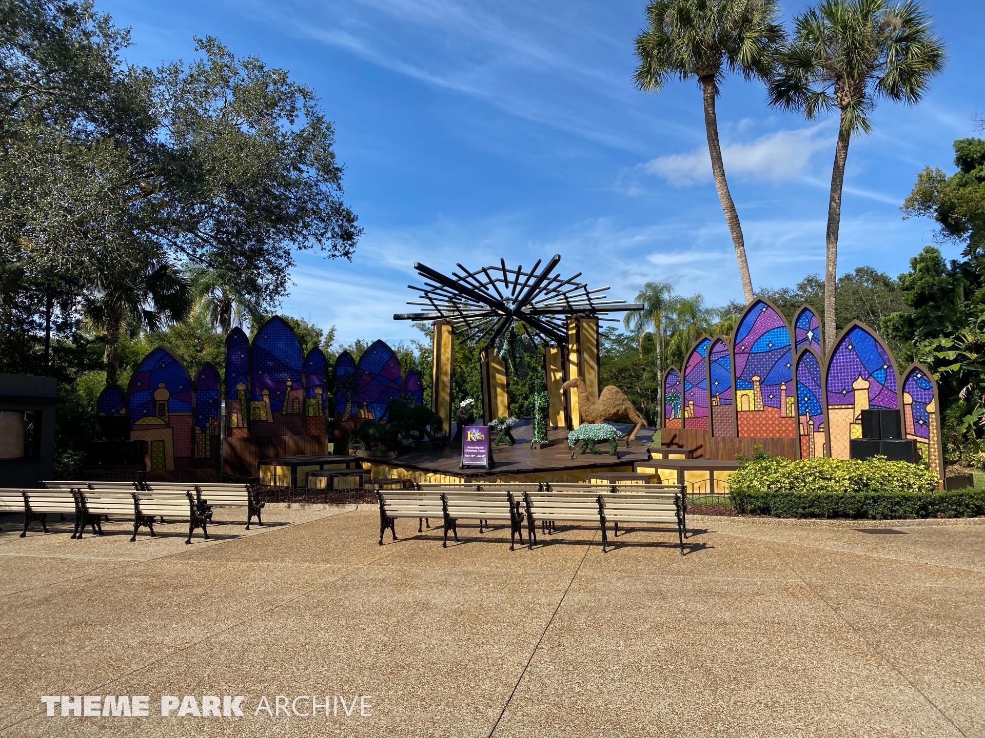 Bird Gardens at Busch Gardens Tampa