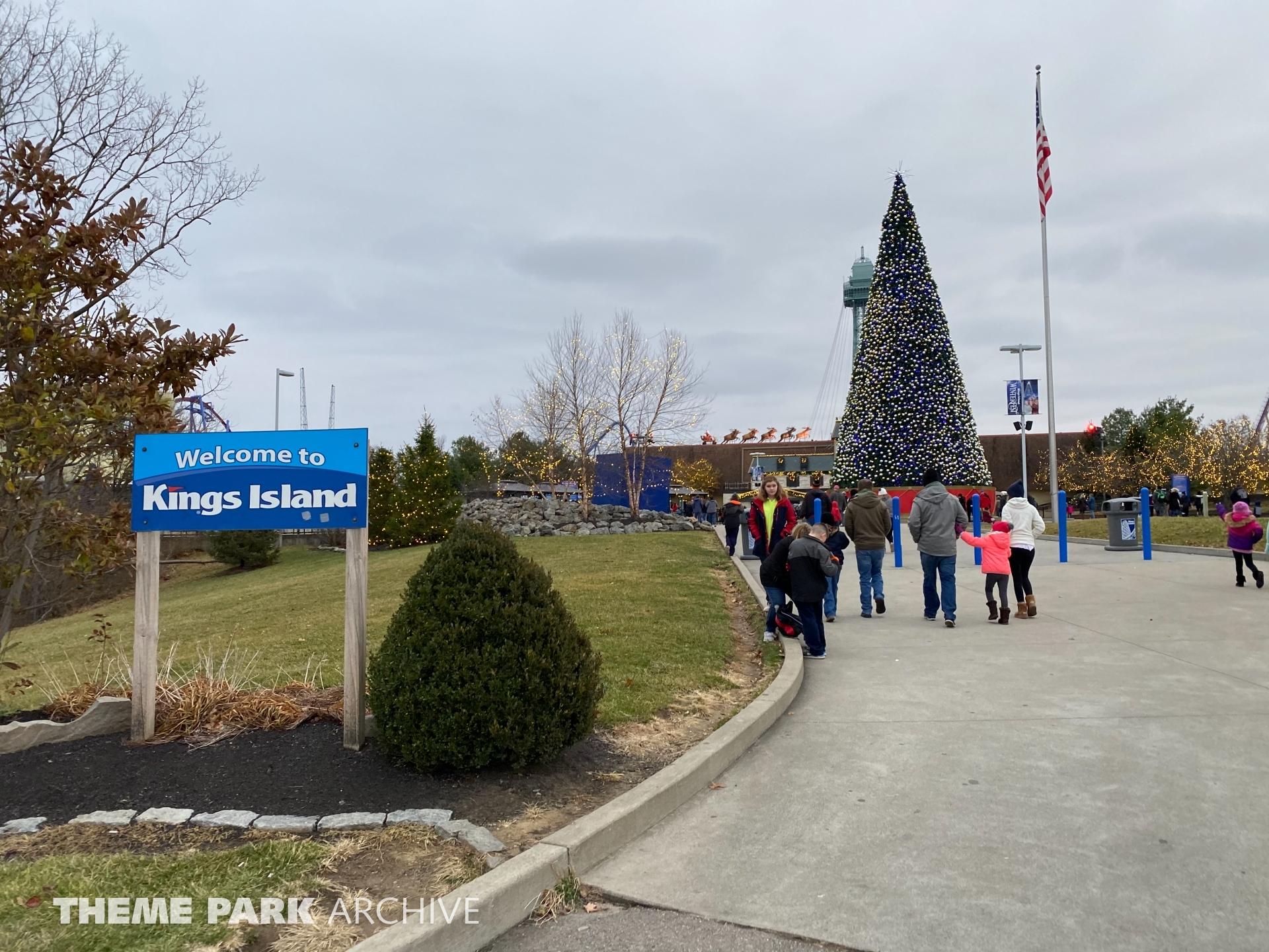 Entrance at Kings Island