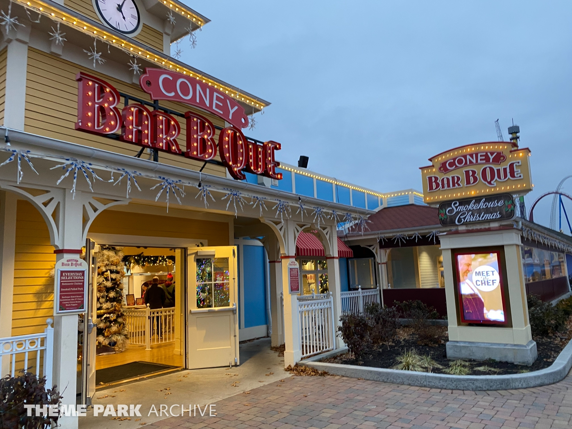 Coney BarbQue at Kings Island