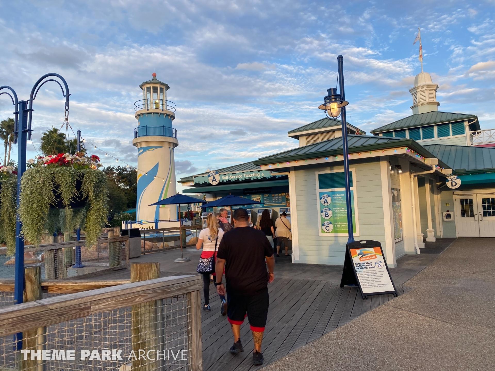 Entrance at SeaWorld Orlando