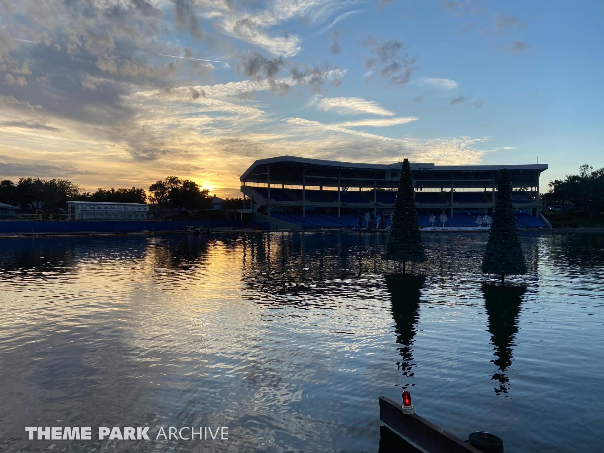 Bayside Stadium at SeaWorld Orlando