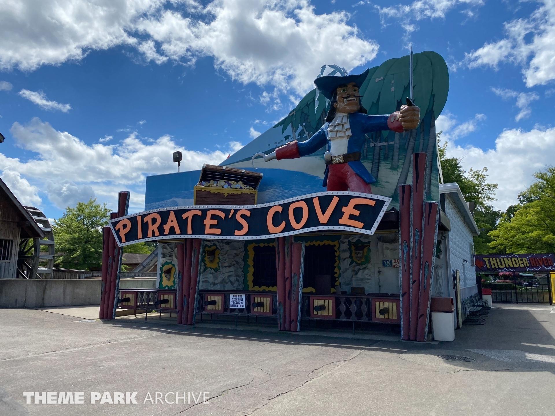 Pirate's Cove at Waldameer Park