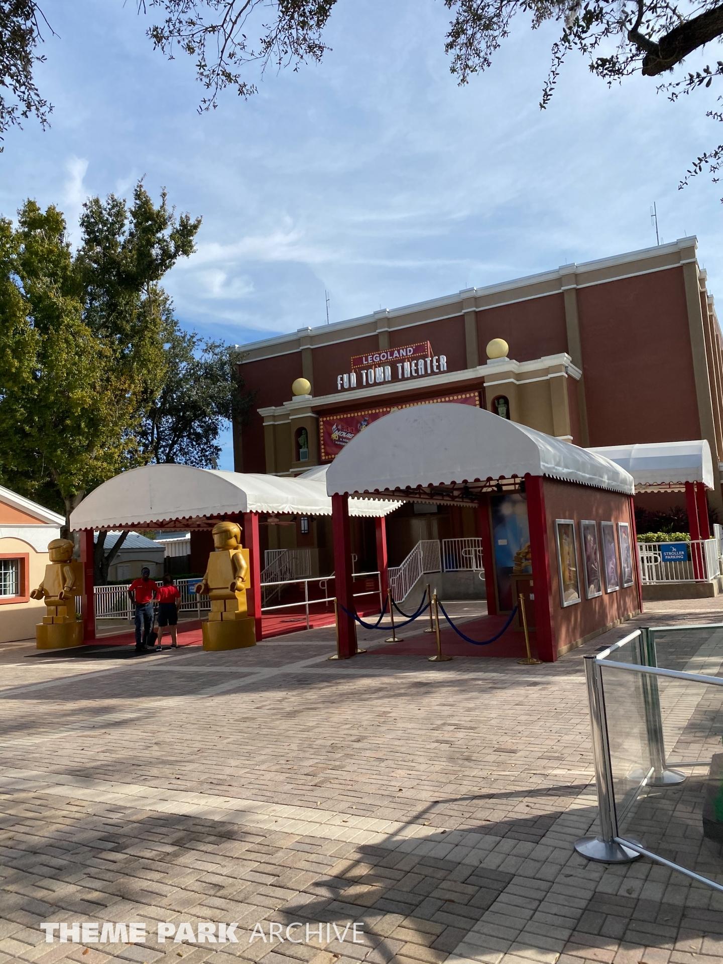 Fun Town 4D Theater at LEGOLAND Florida
