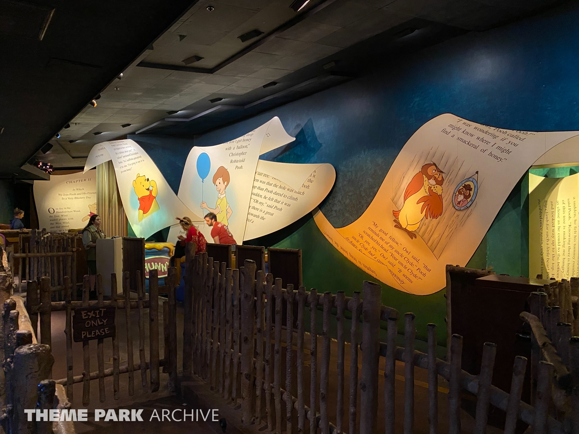 The Many Adventures of Winnie the Pooh at Magic Kingdom