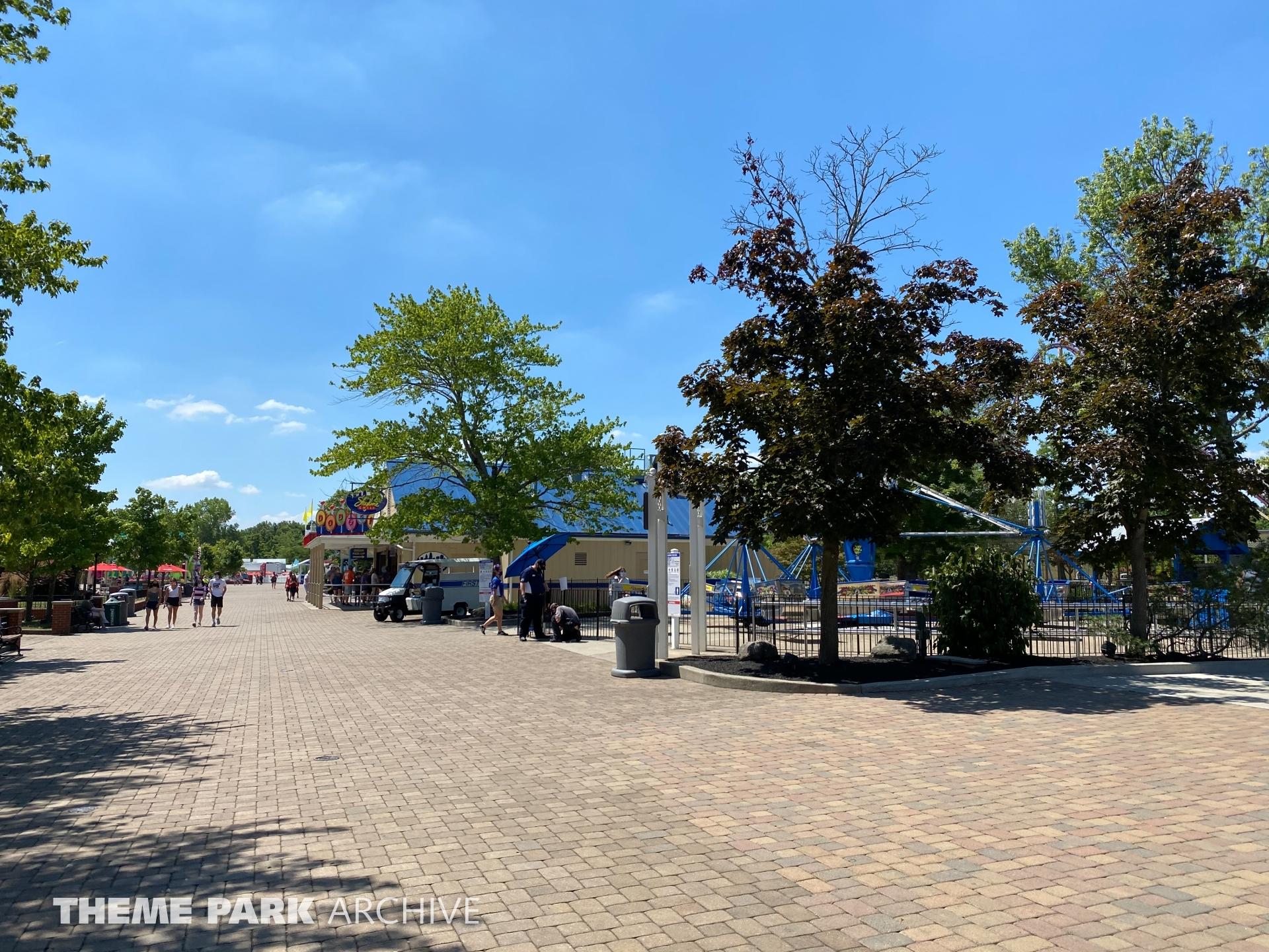 Coney Mall at Kings Island