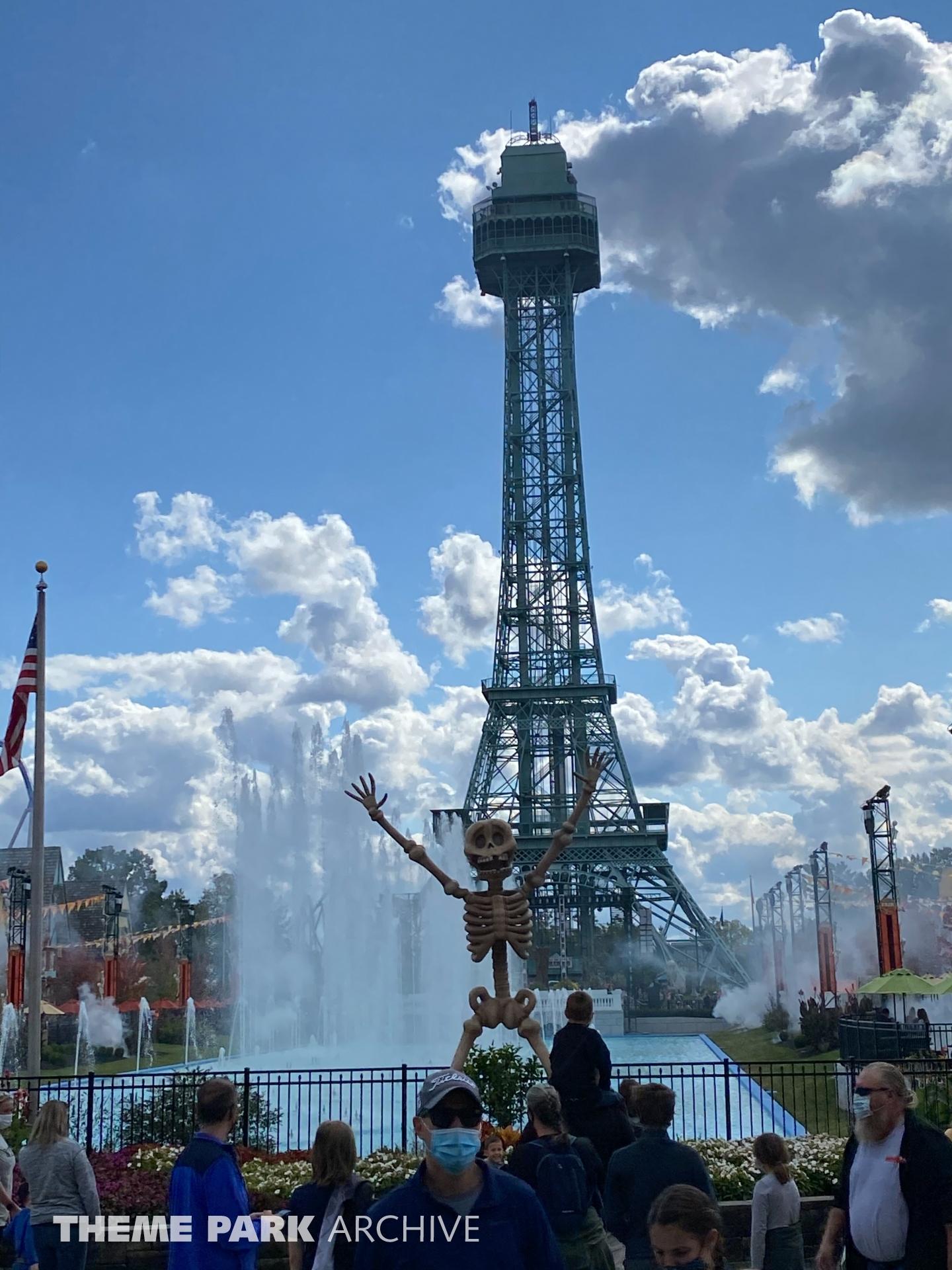 Eiffel Tower at Kings Island