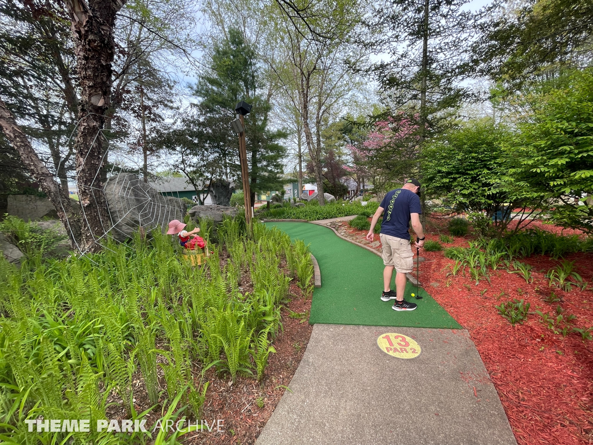 Adventure Mini Golf at Sluggers & Putters Amusement Park
