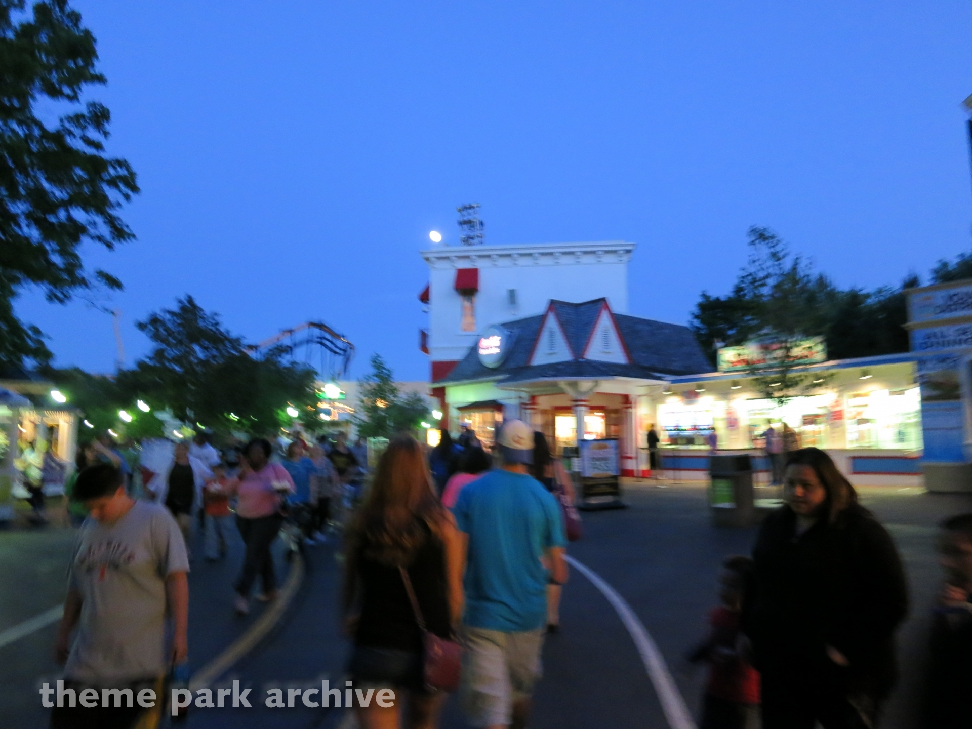 Hometown Square at Six Flags Great America