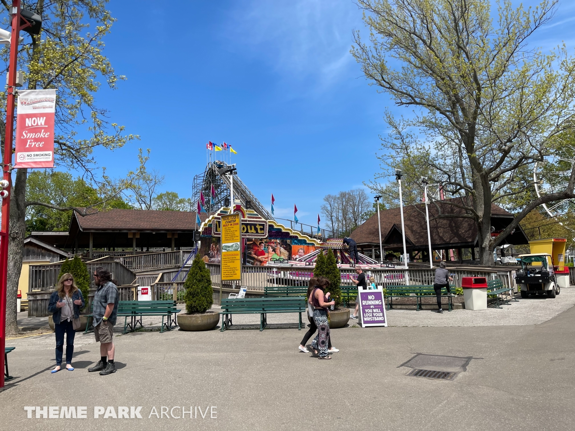 Wipeout at Waldameer Park