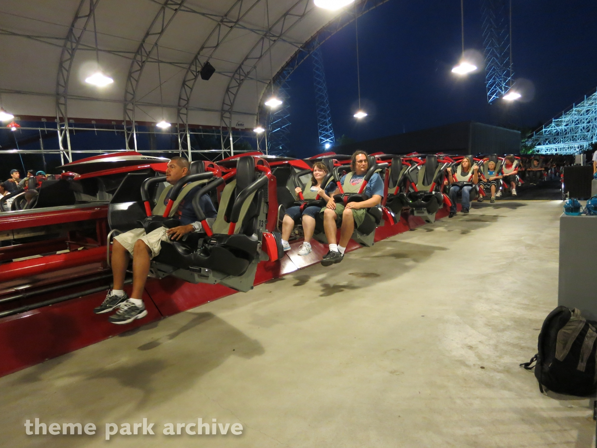 X Flight at Six Flags Great America