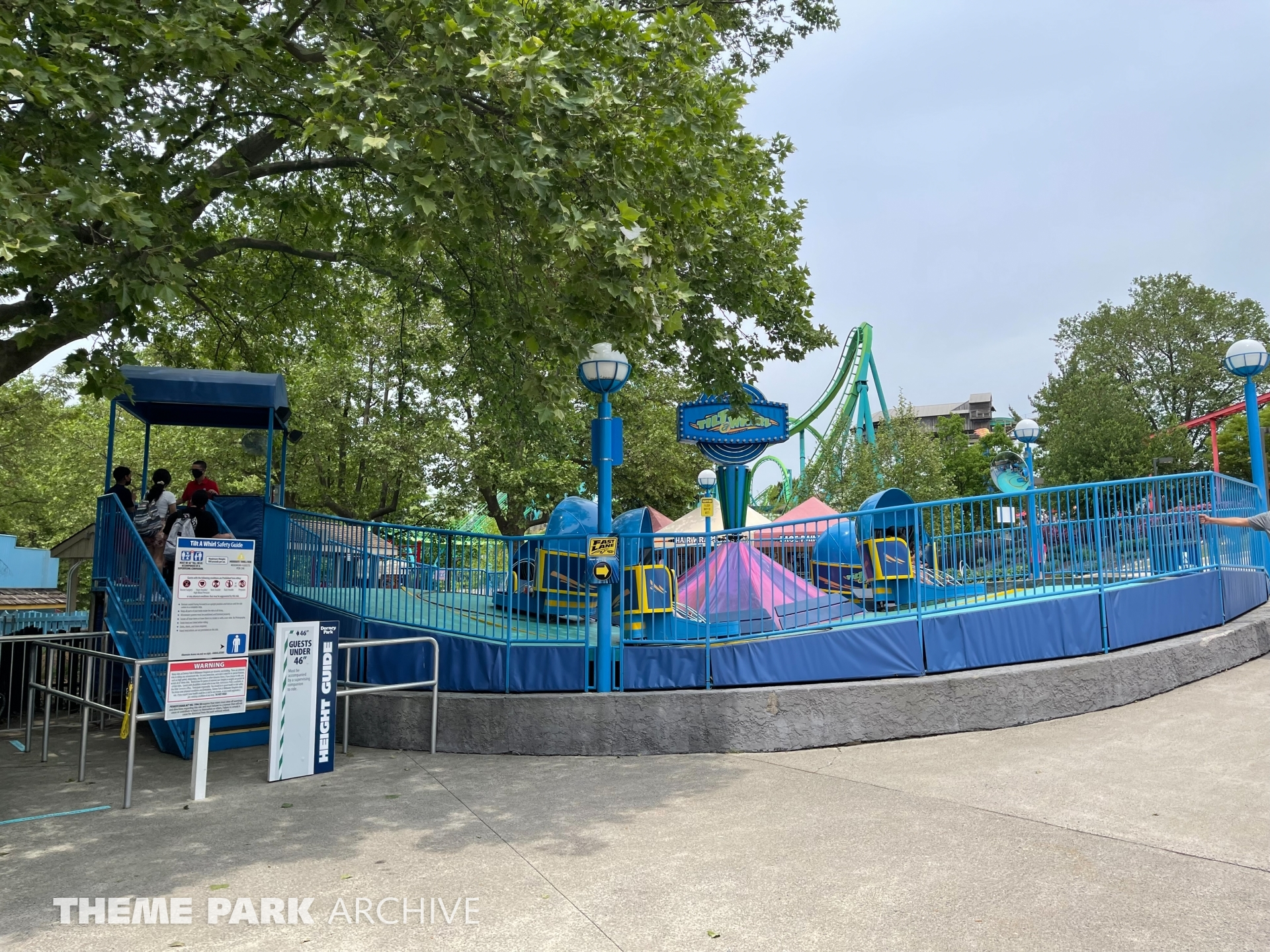 Tilt a Whirl at Dorney Park