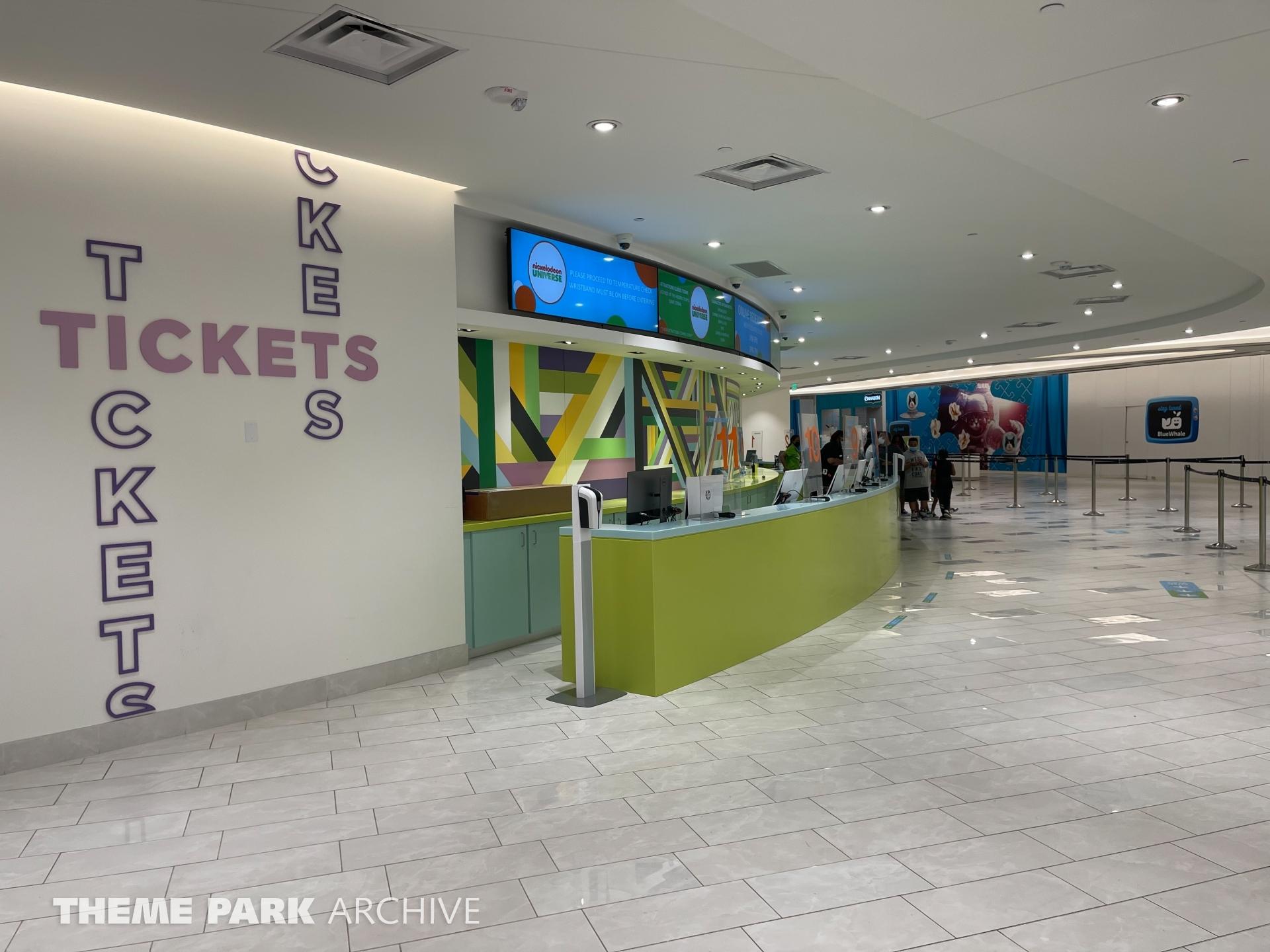 Entrance at Nickelodeon Universe at American Dream