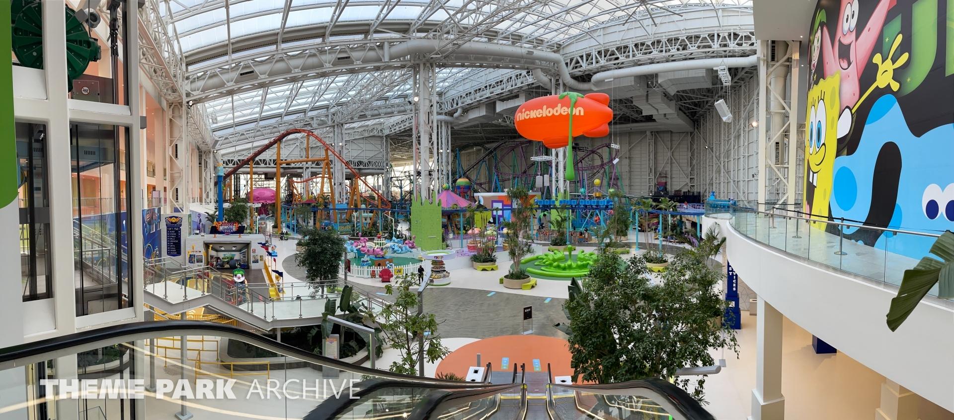 Nickelodeon Slime Streak at Nickelodeon Universe at American Dream
