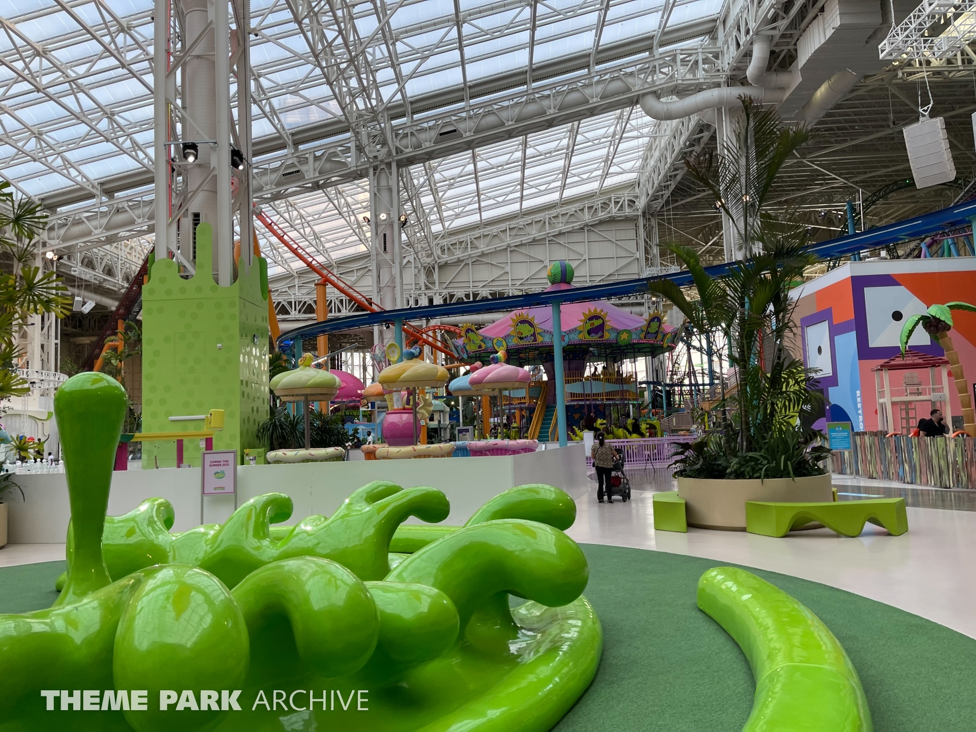 Dora's Sky Railway at Nickelodeon Universe at American Dream