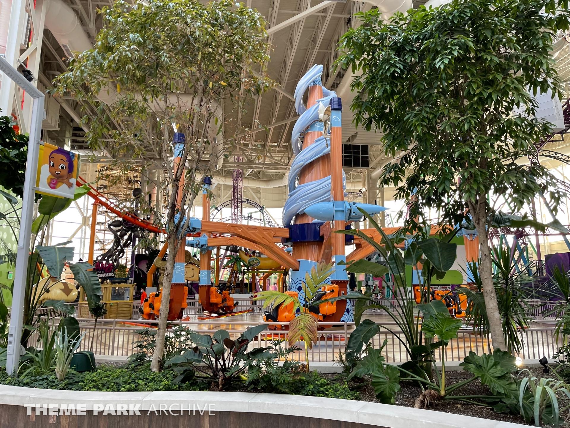 Aang's Air Gliders at Nickelodeon Universe at American Dream