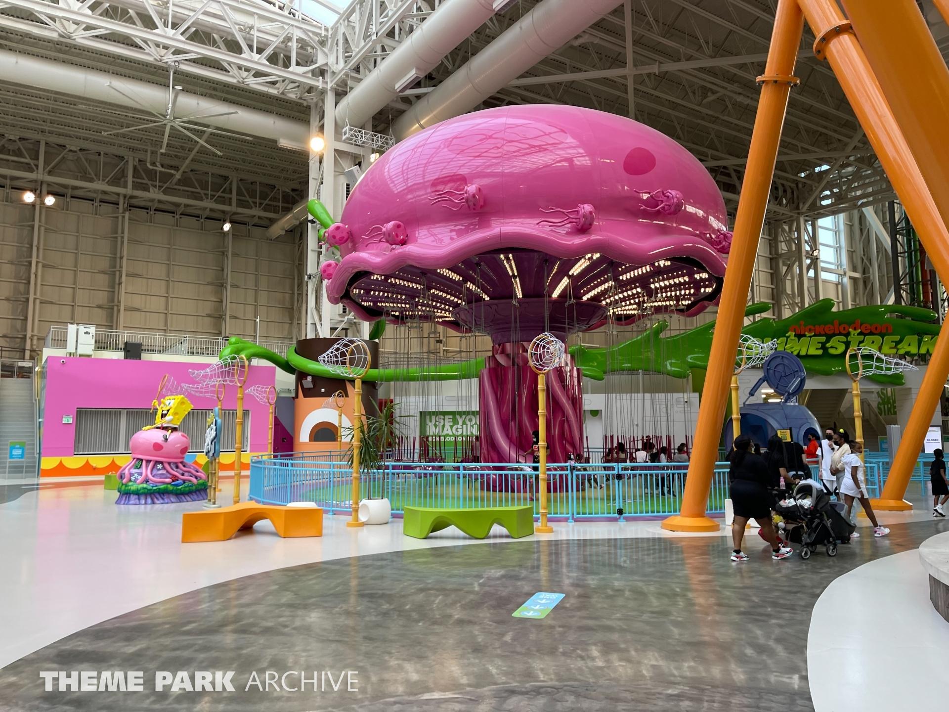 SpongeBob's Jellyfish Jam at Nickelodeon Universe at American Dream