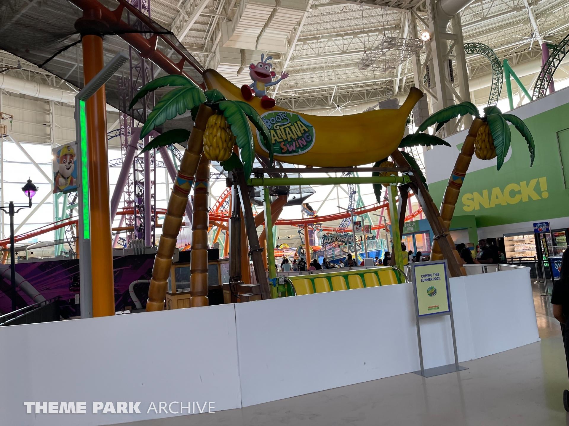 Boots' Banana Swing at Nickelodeon Universe at American Dream