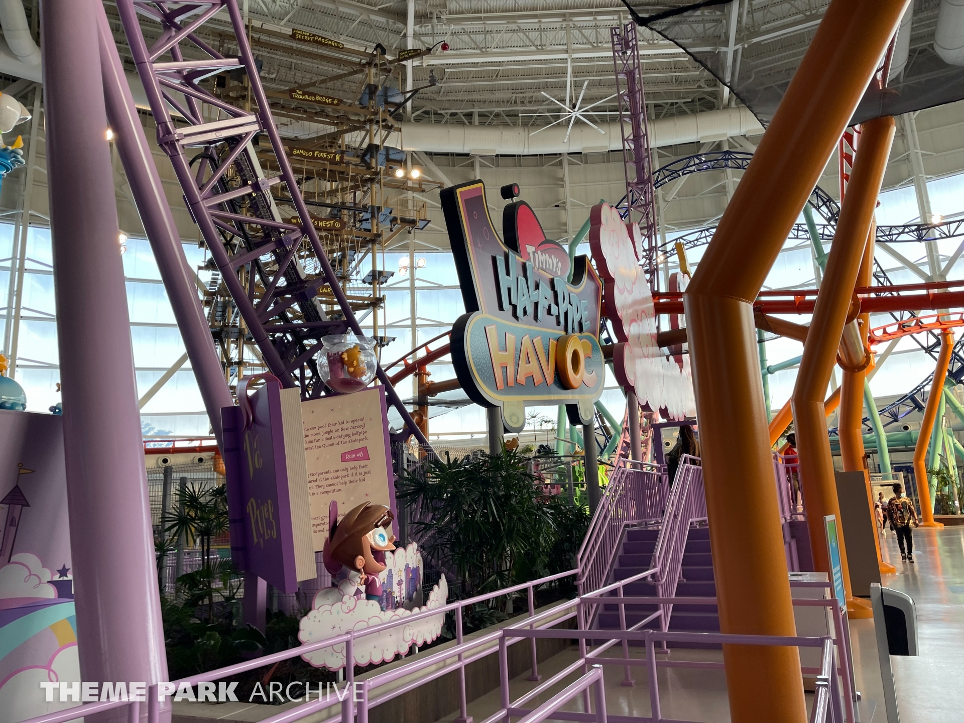 Timmy's Half Pipe Havoc at Nickelodeon Universe at American Dream