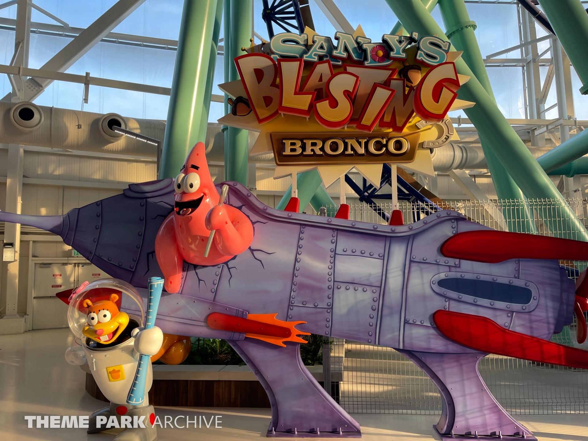 Sandy's Blasting Bronco at Nickelodeon Universe at American Dream