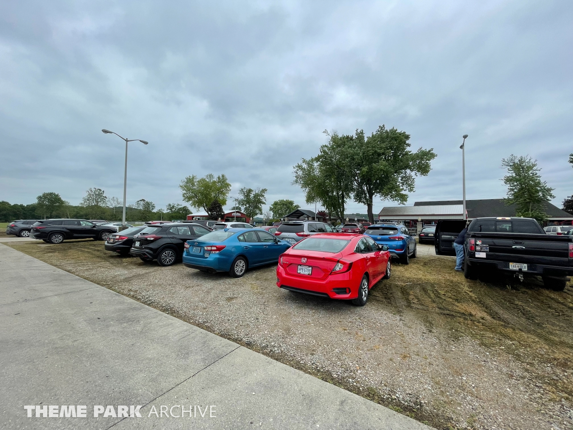 Parking at Stricker's Grove
