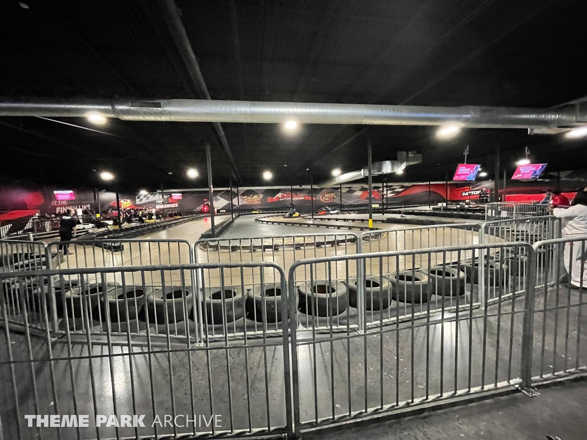 Indoor Go Karts at Scene75 Entertainment Center Dayton