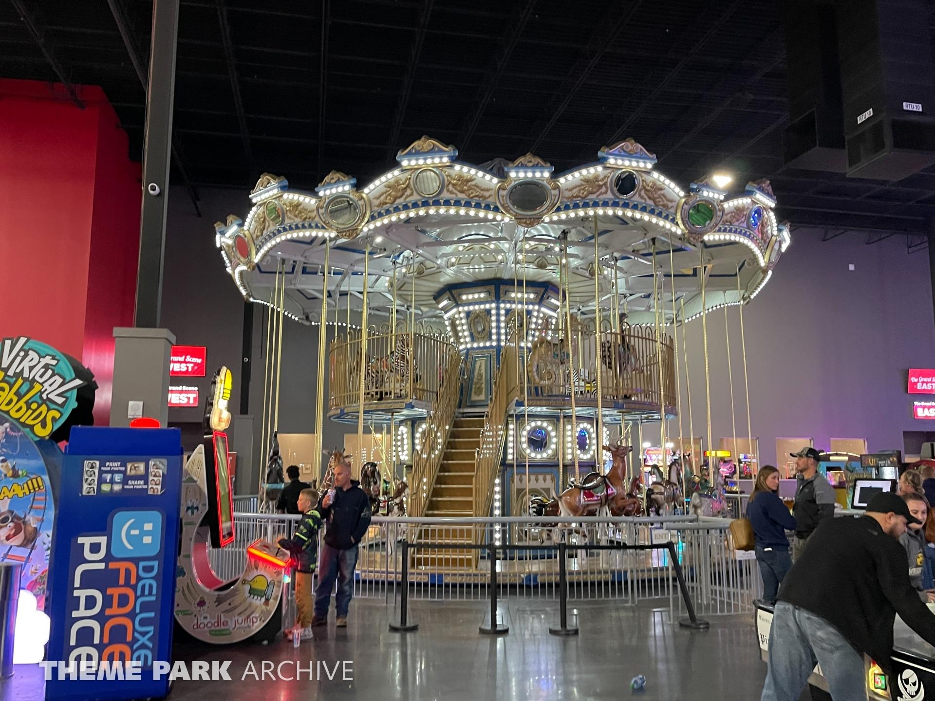 The Adeline Carousel at Scene75 Entertainment Center Dayton