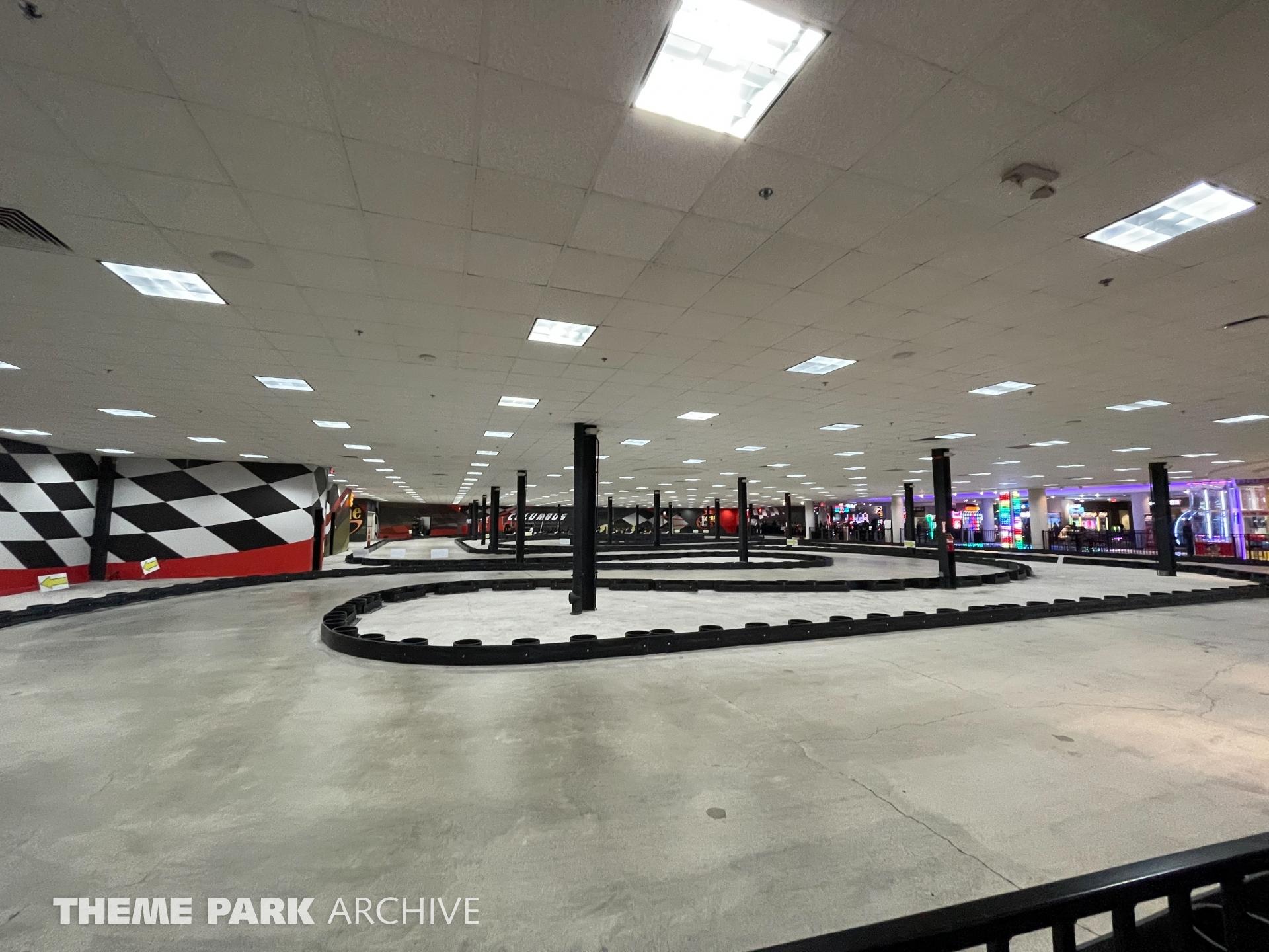 Indoor Go Karts at Scene75 Entertainment Center Columbus