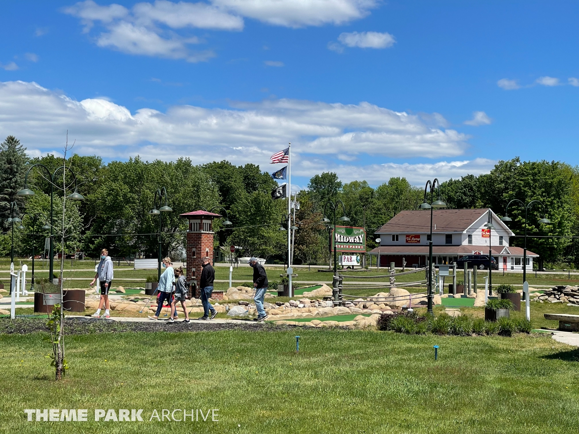 Mini Golf at Midway State Park