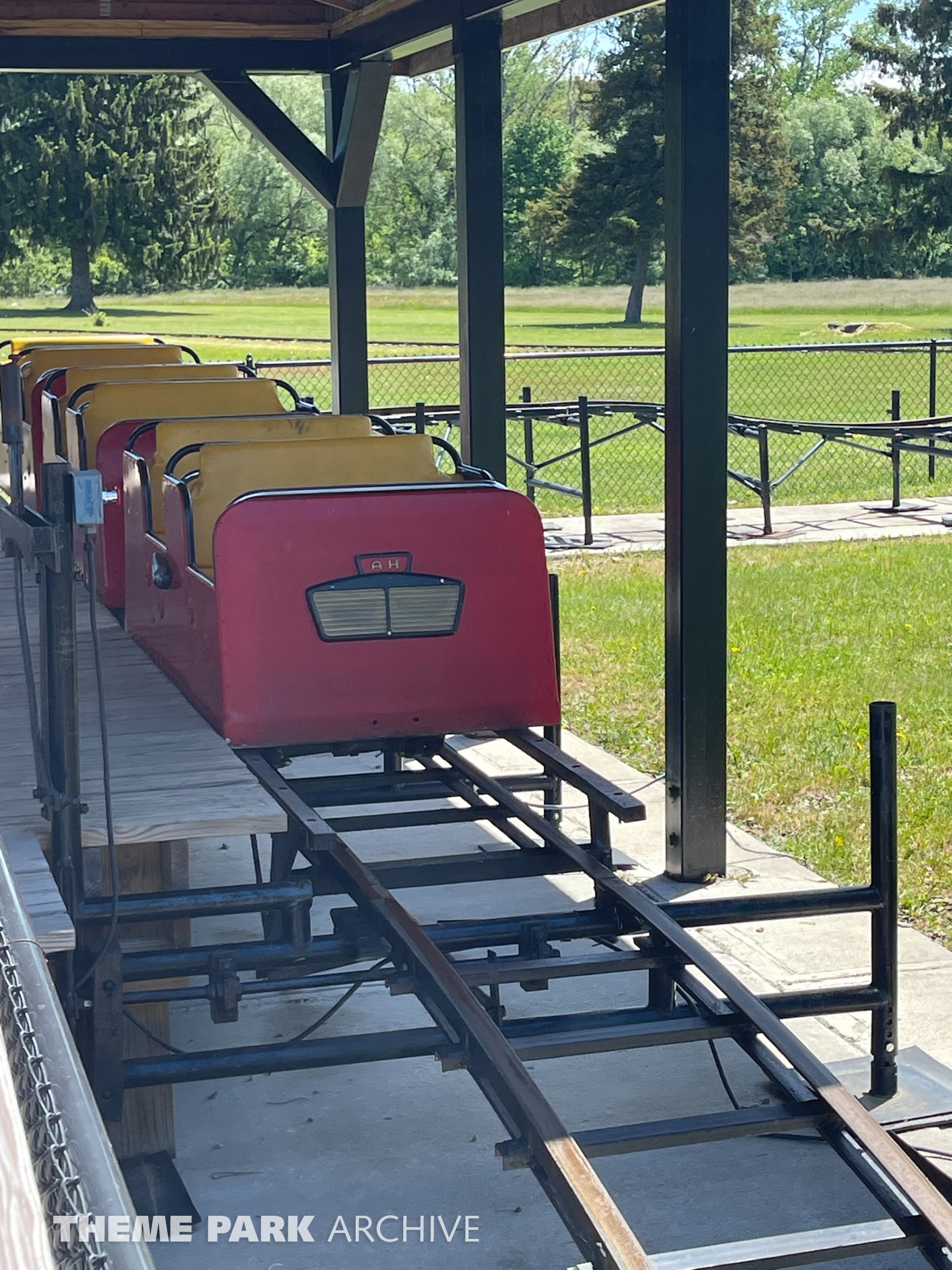 Roller Coaster at Midway State Park