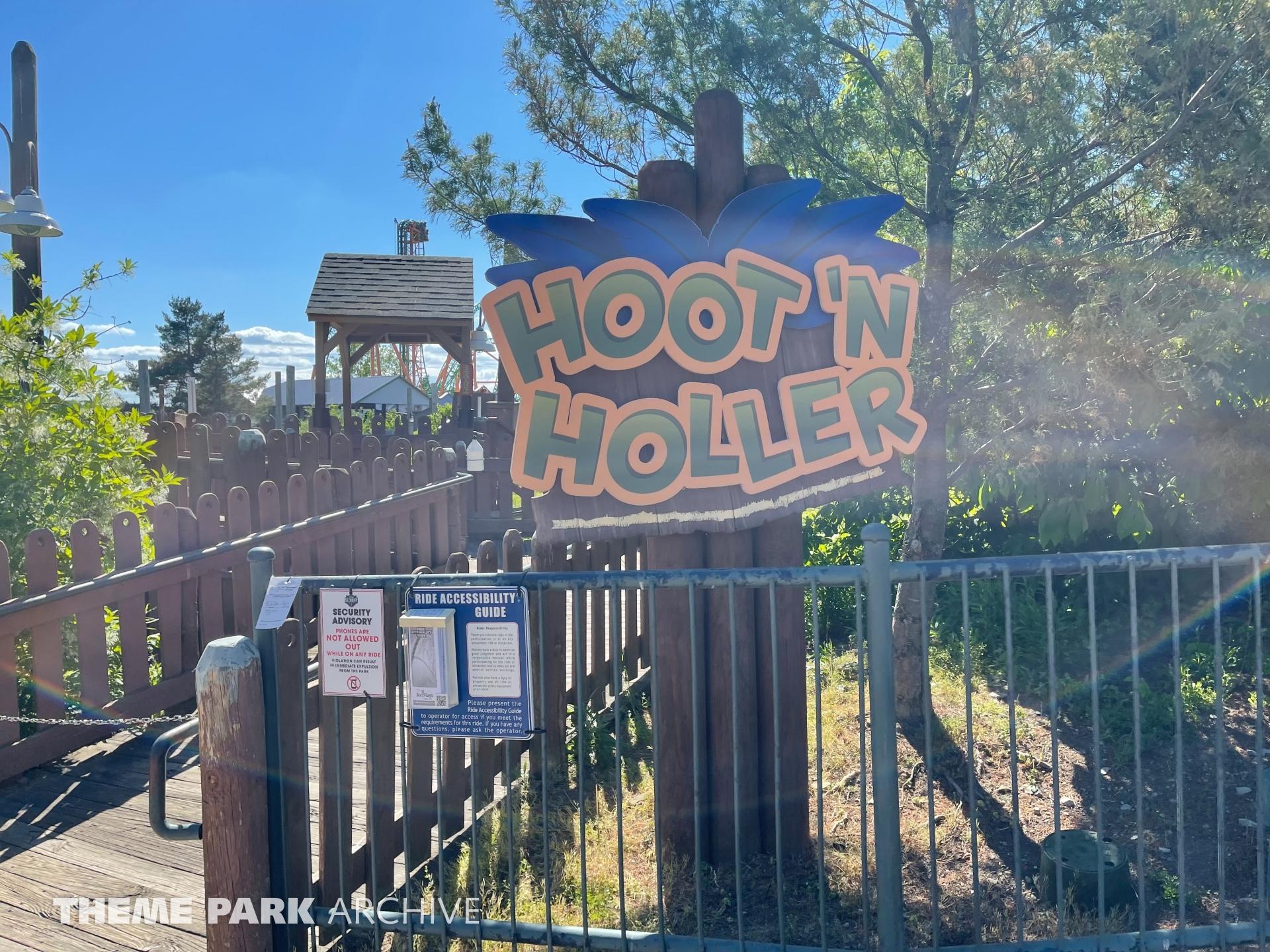 Hoot N Holler at Six Flags Darien Lake