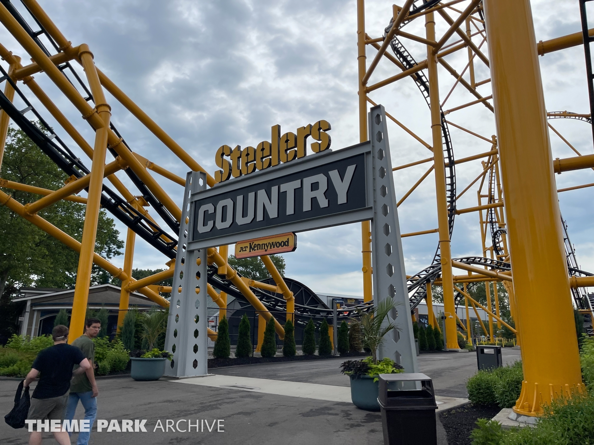 Steelers Country at Kennywood