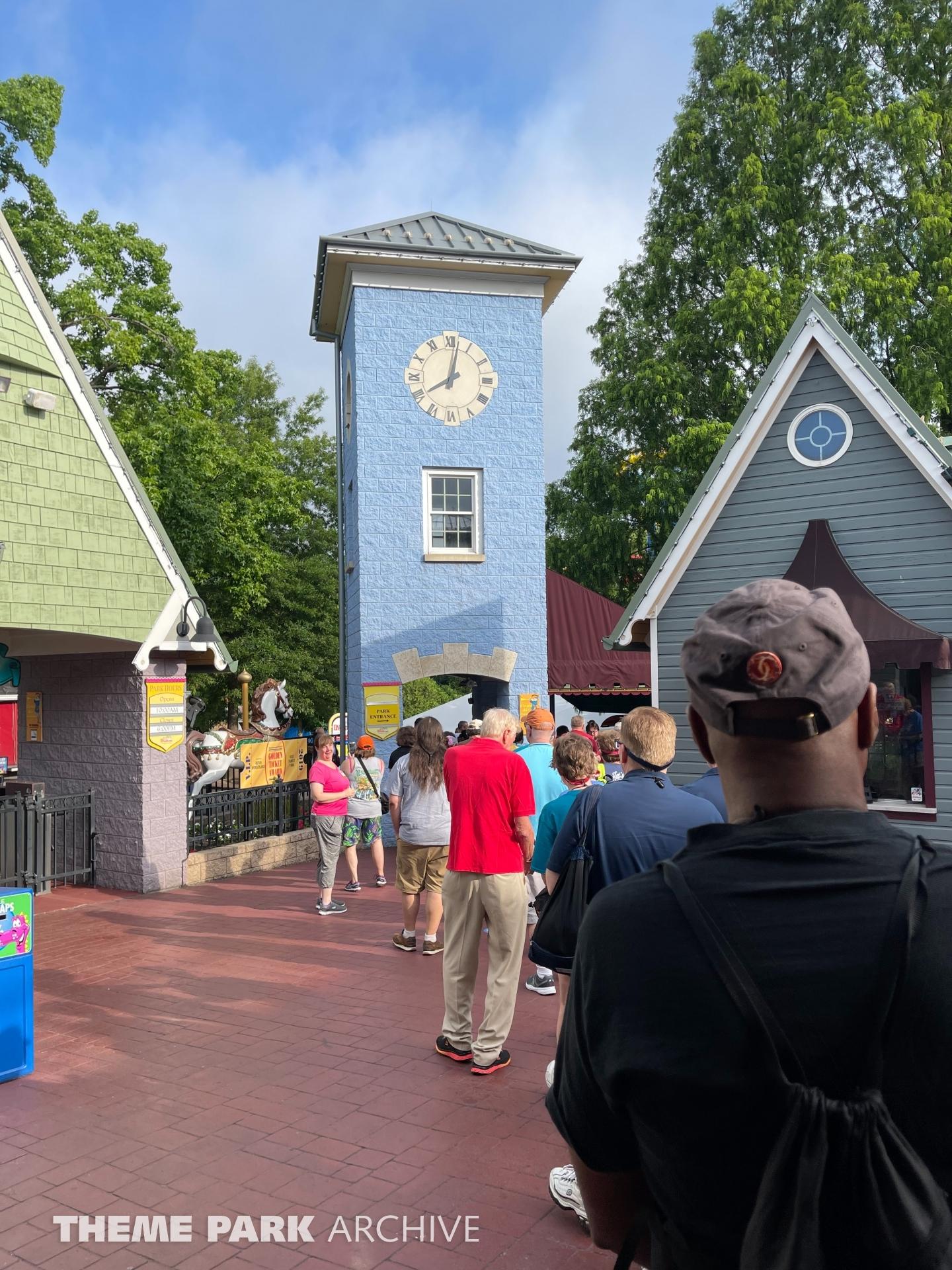 Entrance at Dutch Wonderland