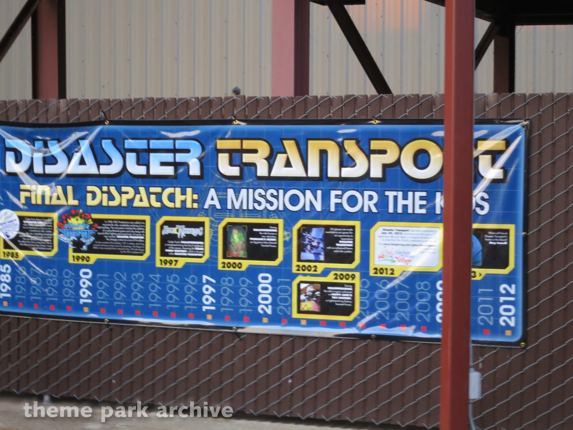 Disaster Transport at Cedar Point