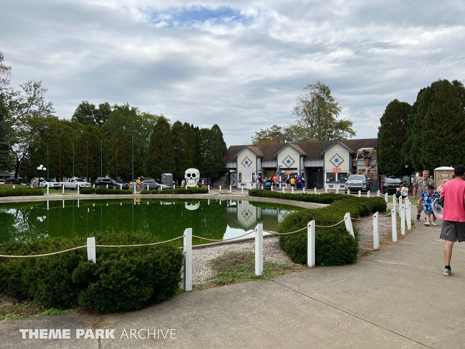 Entrance at Conneaut Lake Park