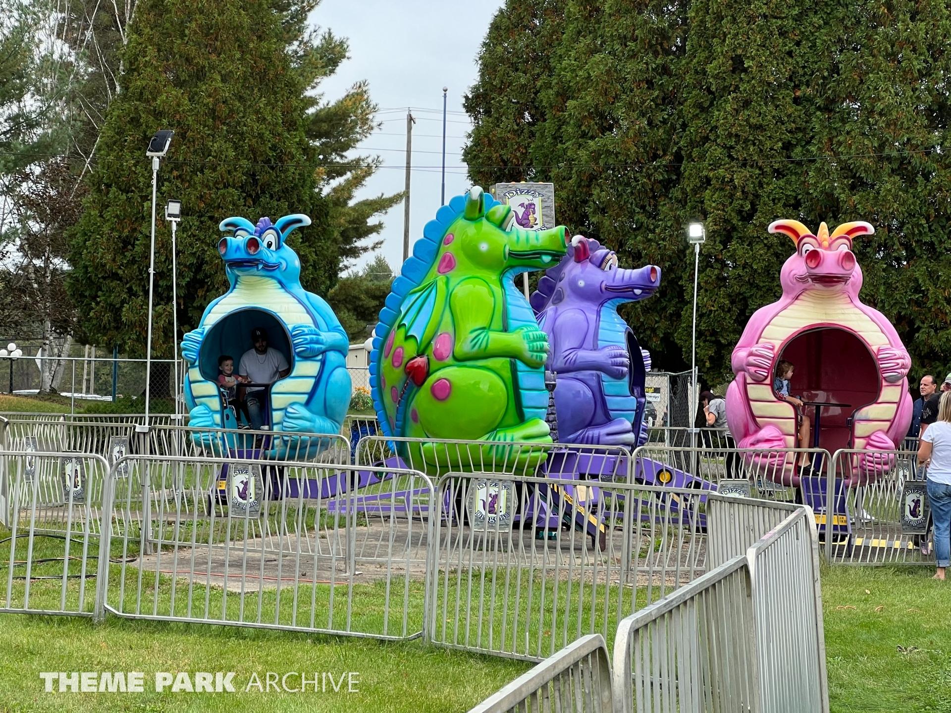 Dizzy Dragons at Conneaut Lake Park