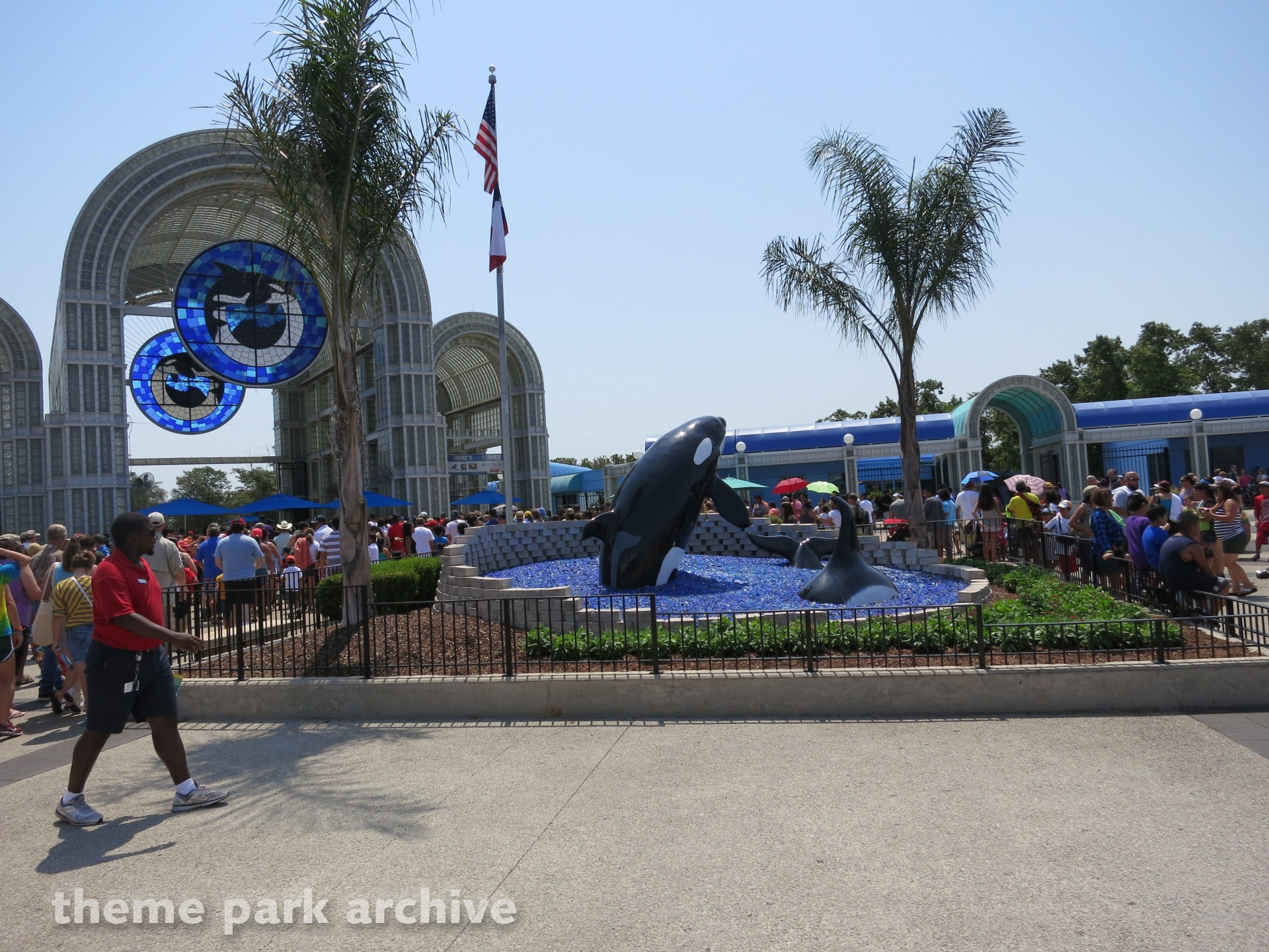 Entrance at Sea World San Antonio