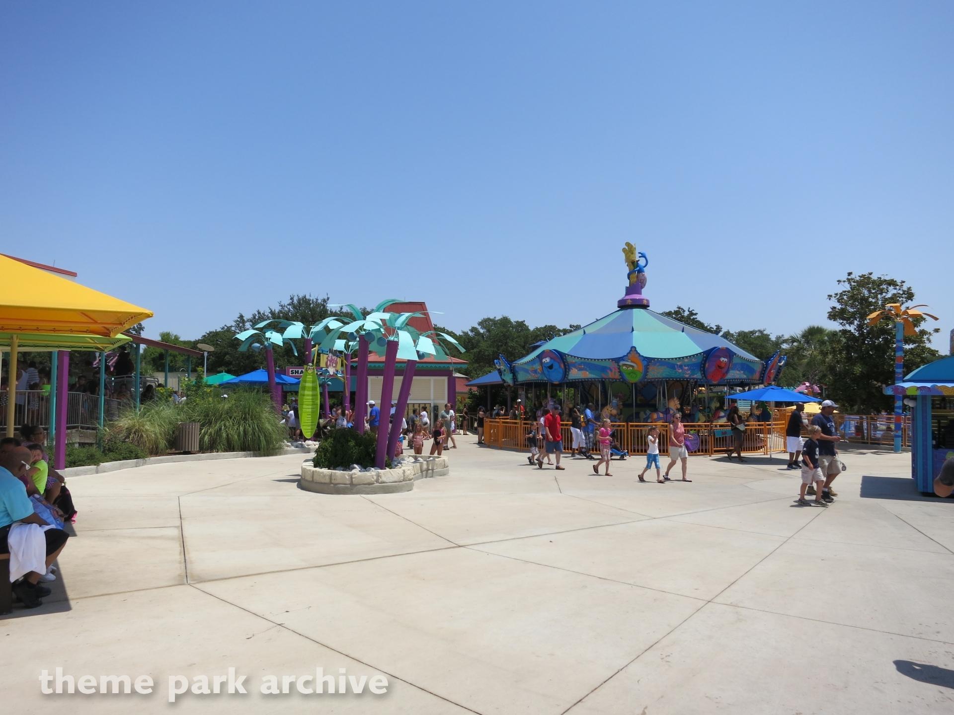 Sesame Street Bay of Play at Sea World San Antonio