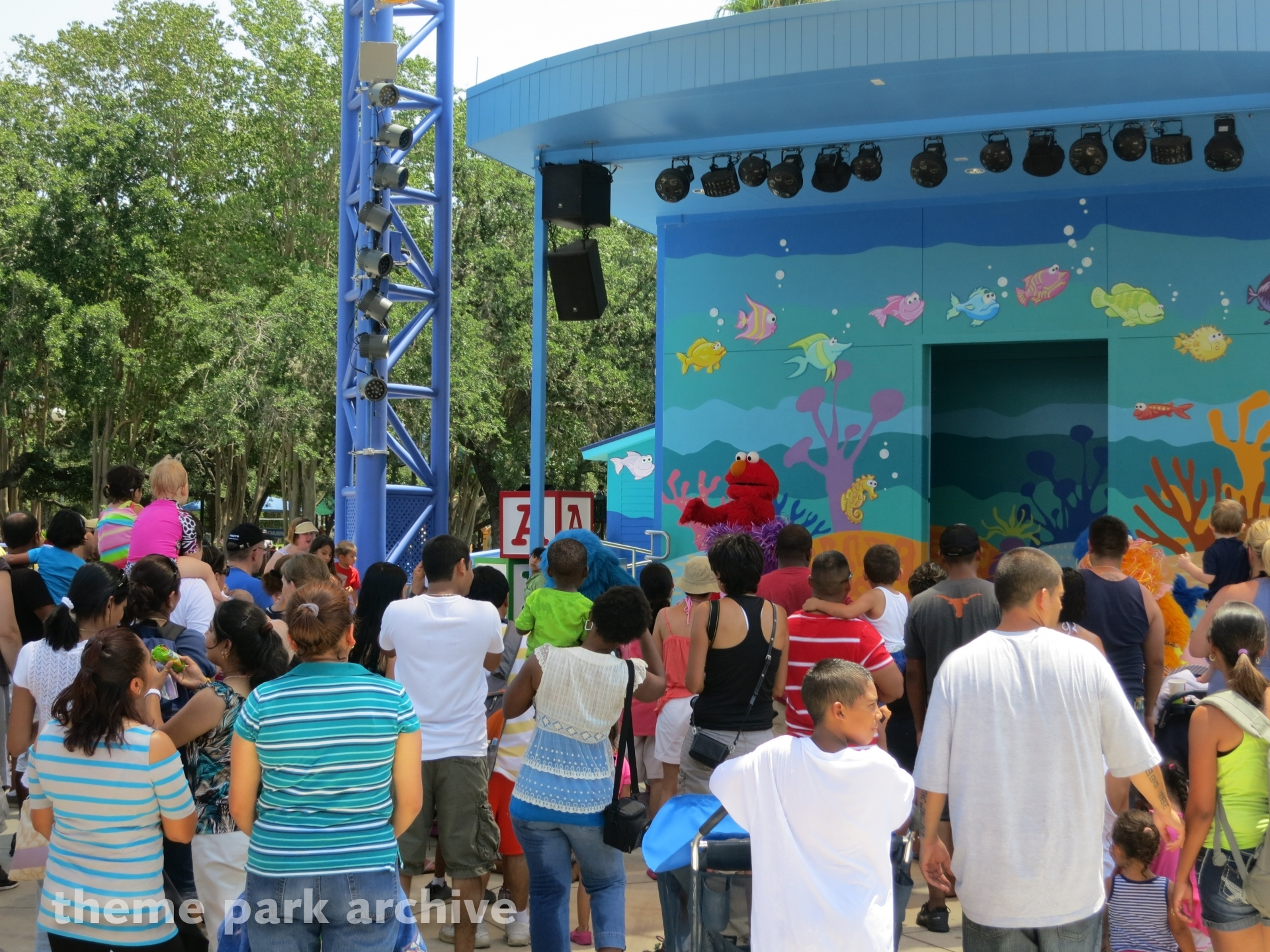 Sesame Street Bay of Play at Sea World San Antonio