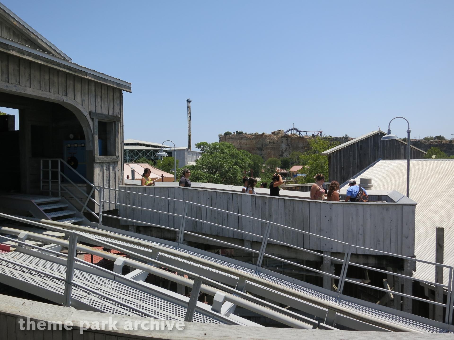 Road Runner Express at Six Flags Fiesta Texas