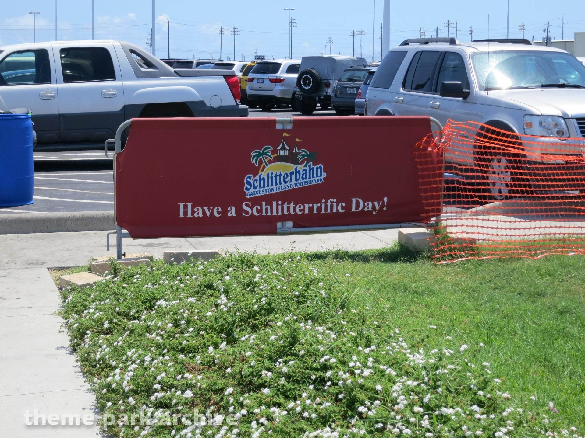 Entrance at Schlitterbahn Galveston Island