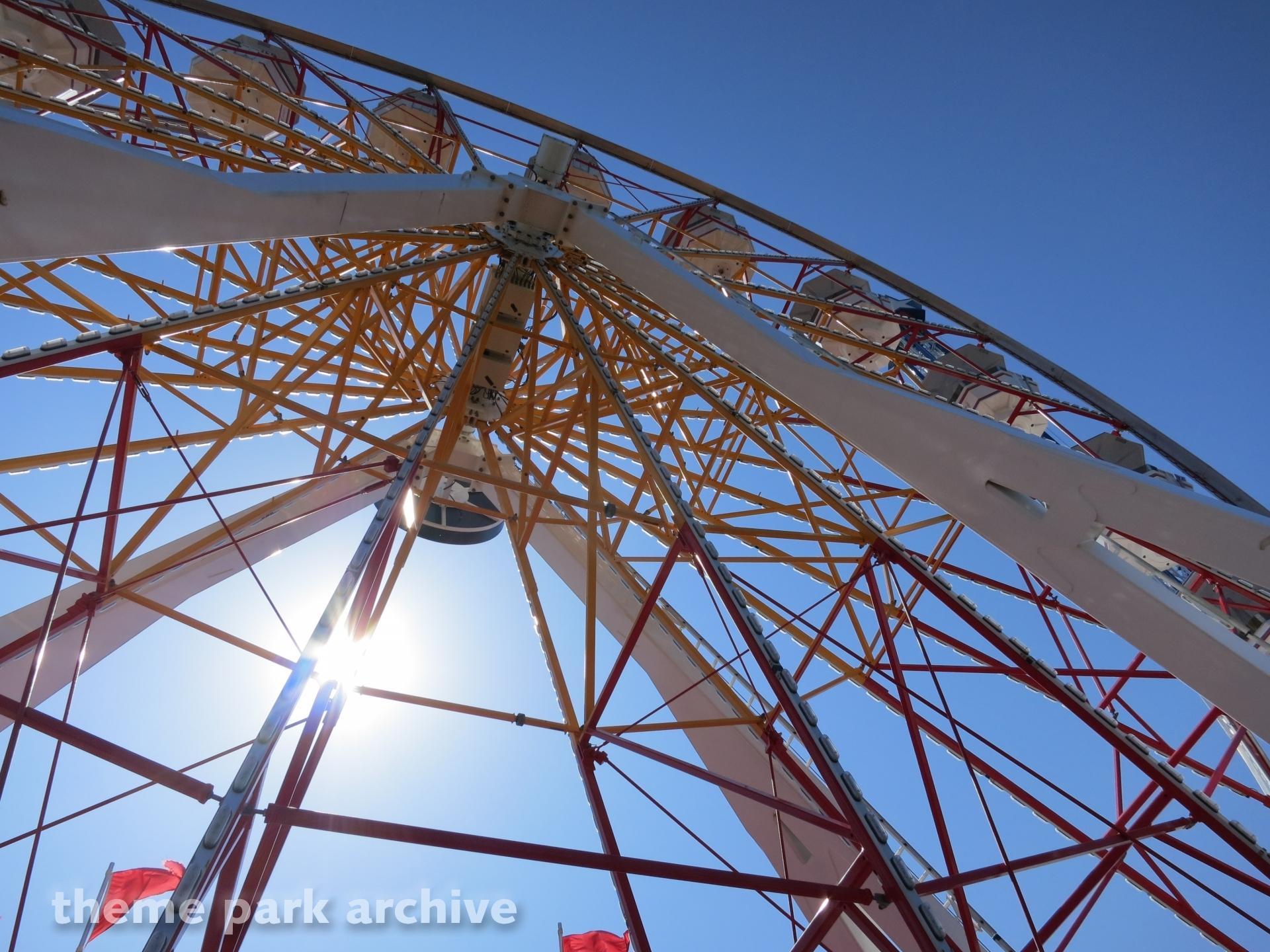 Galaxy Wheel at Galveston Island Historic Pleasure Pier
