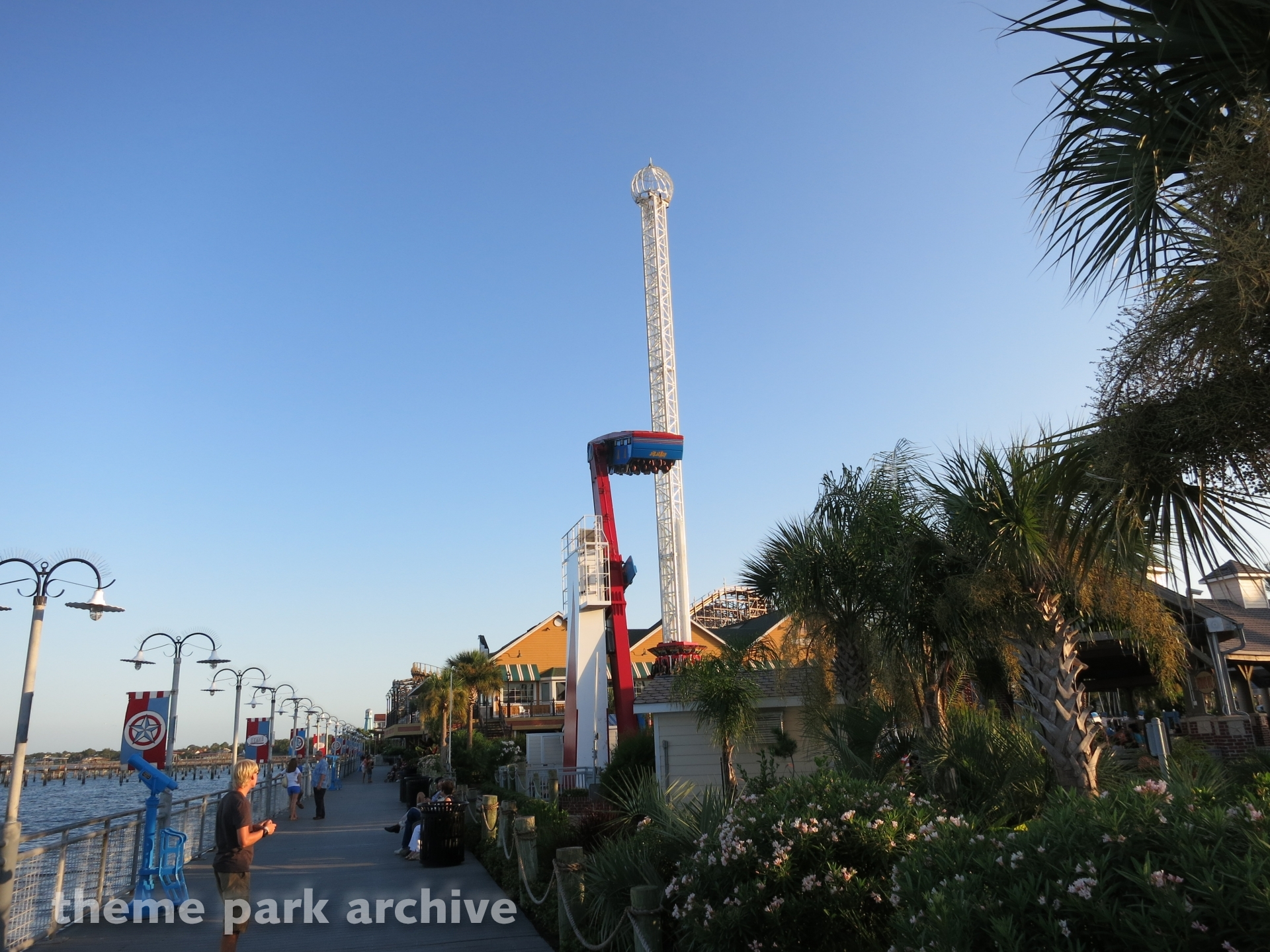 Drop Zone at Kemah Boardwalk