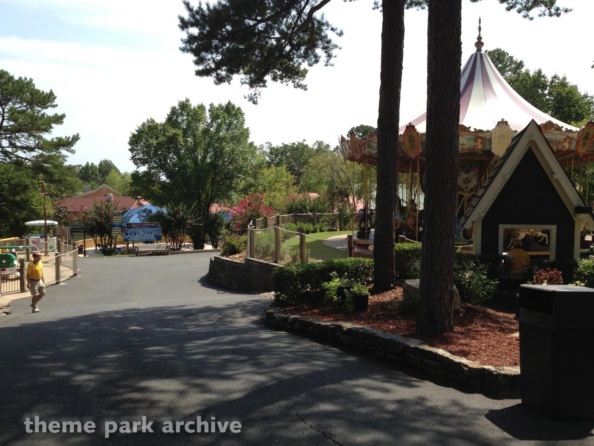 Carousel at Magic Springs & Crystal Falls