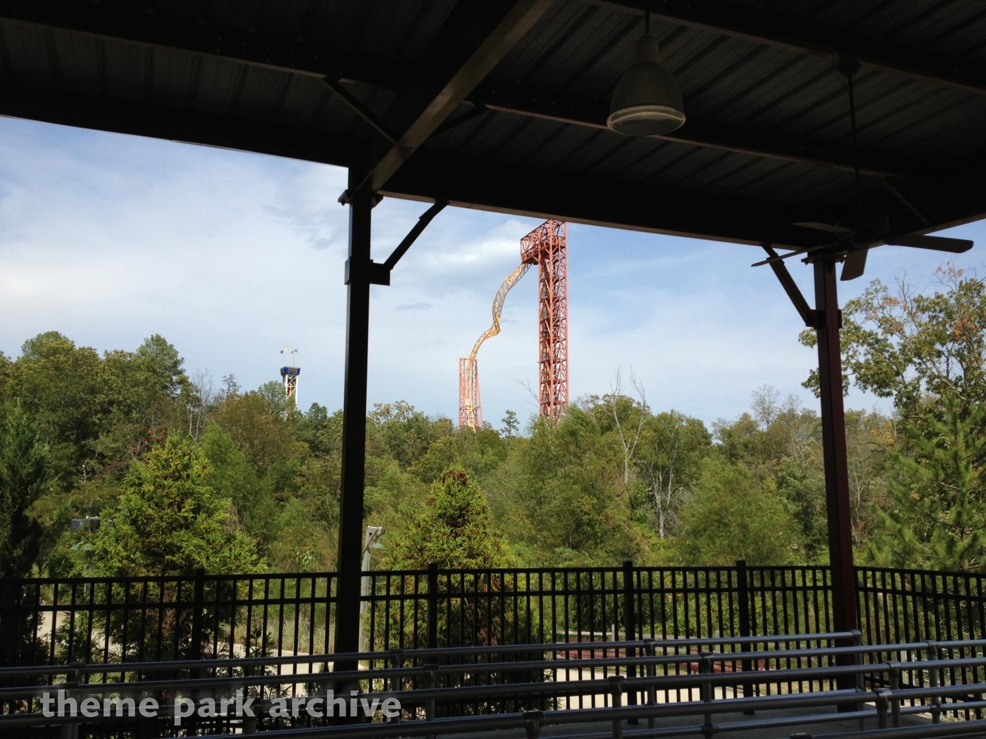 X Coaster at Magic Springs & Crystal Falls