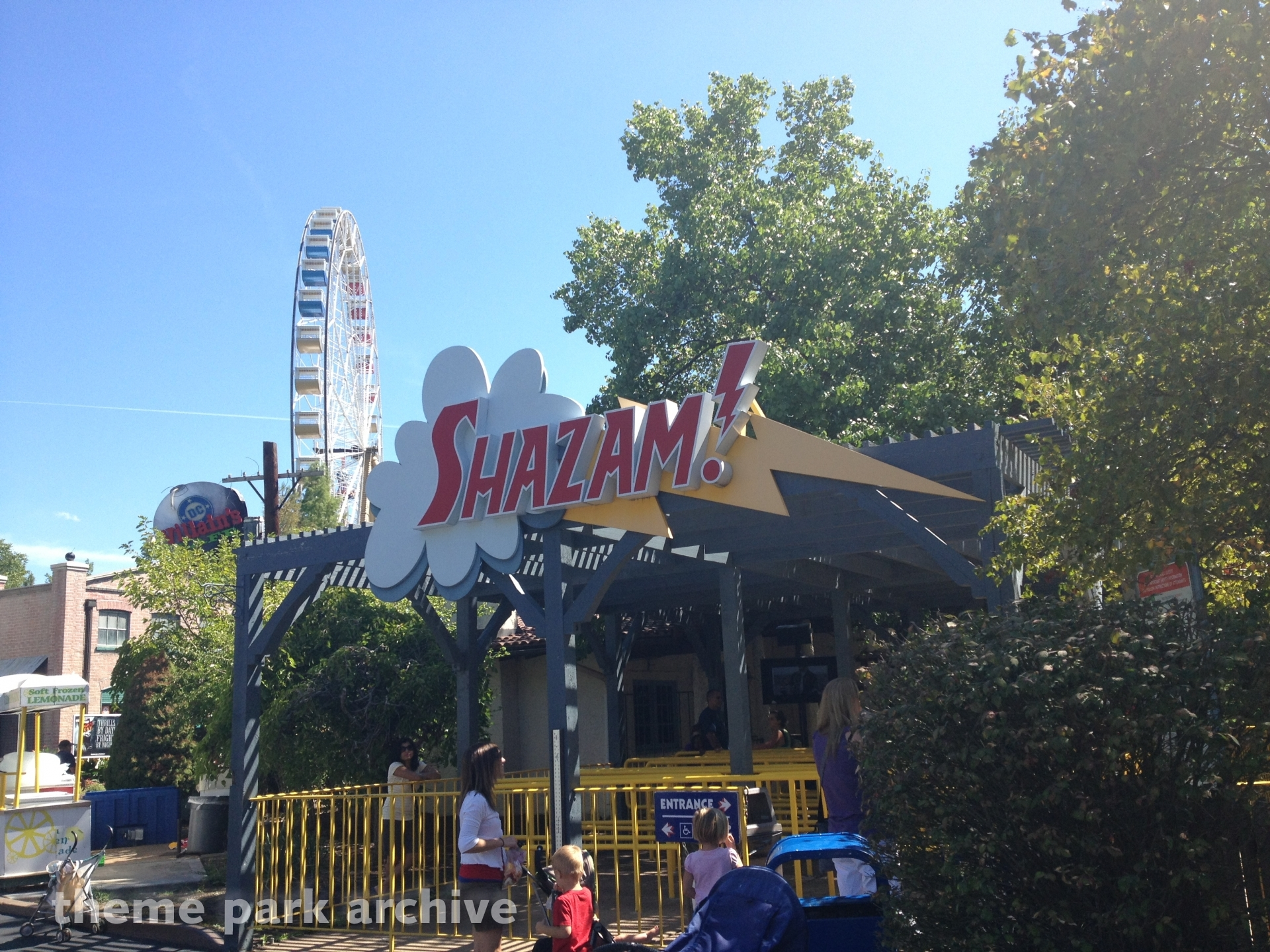 SHAZAM! at Six Flags St. Louis