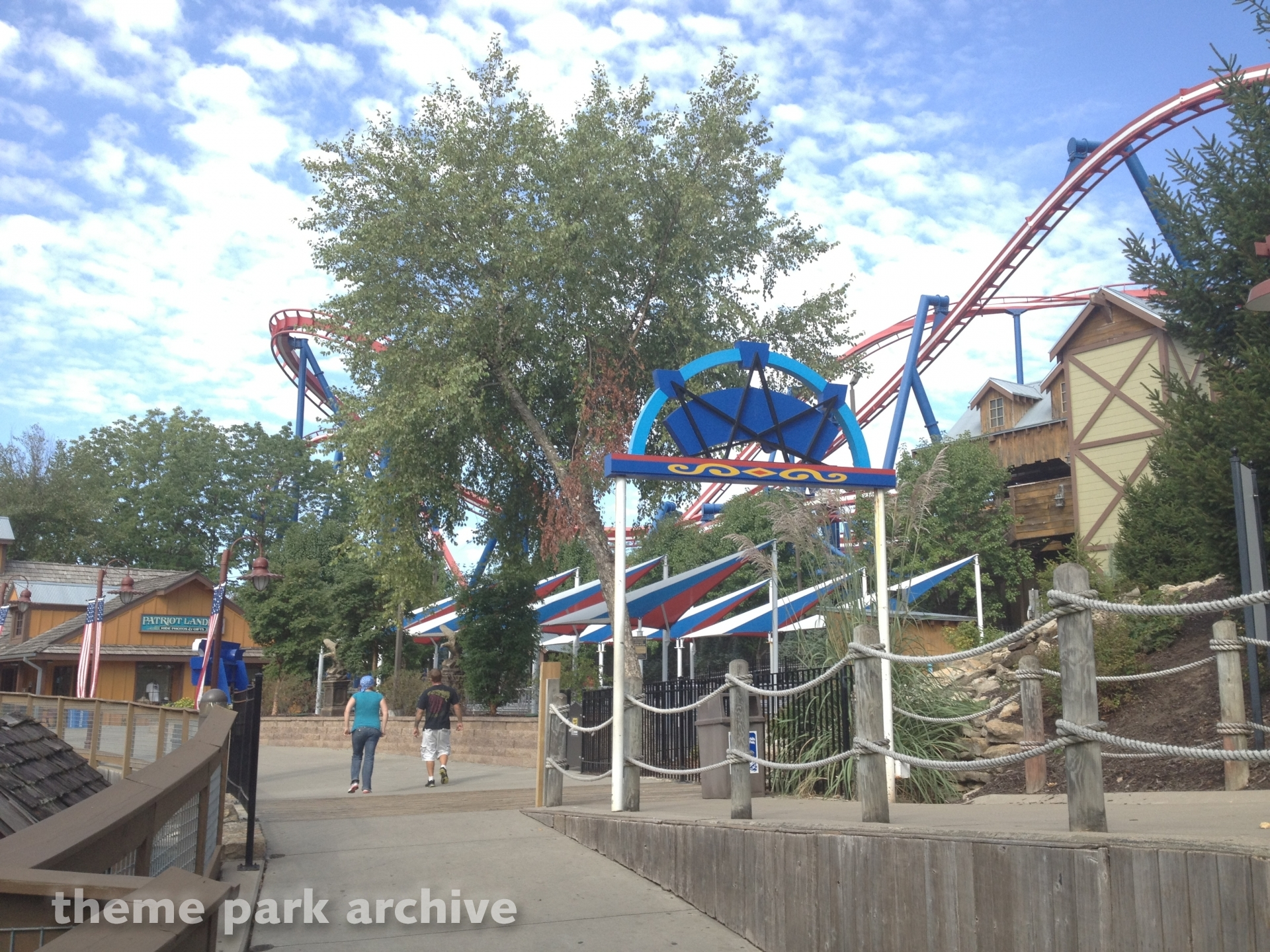 Patriot at Worlds of Fun