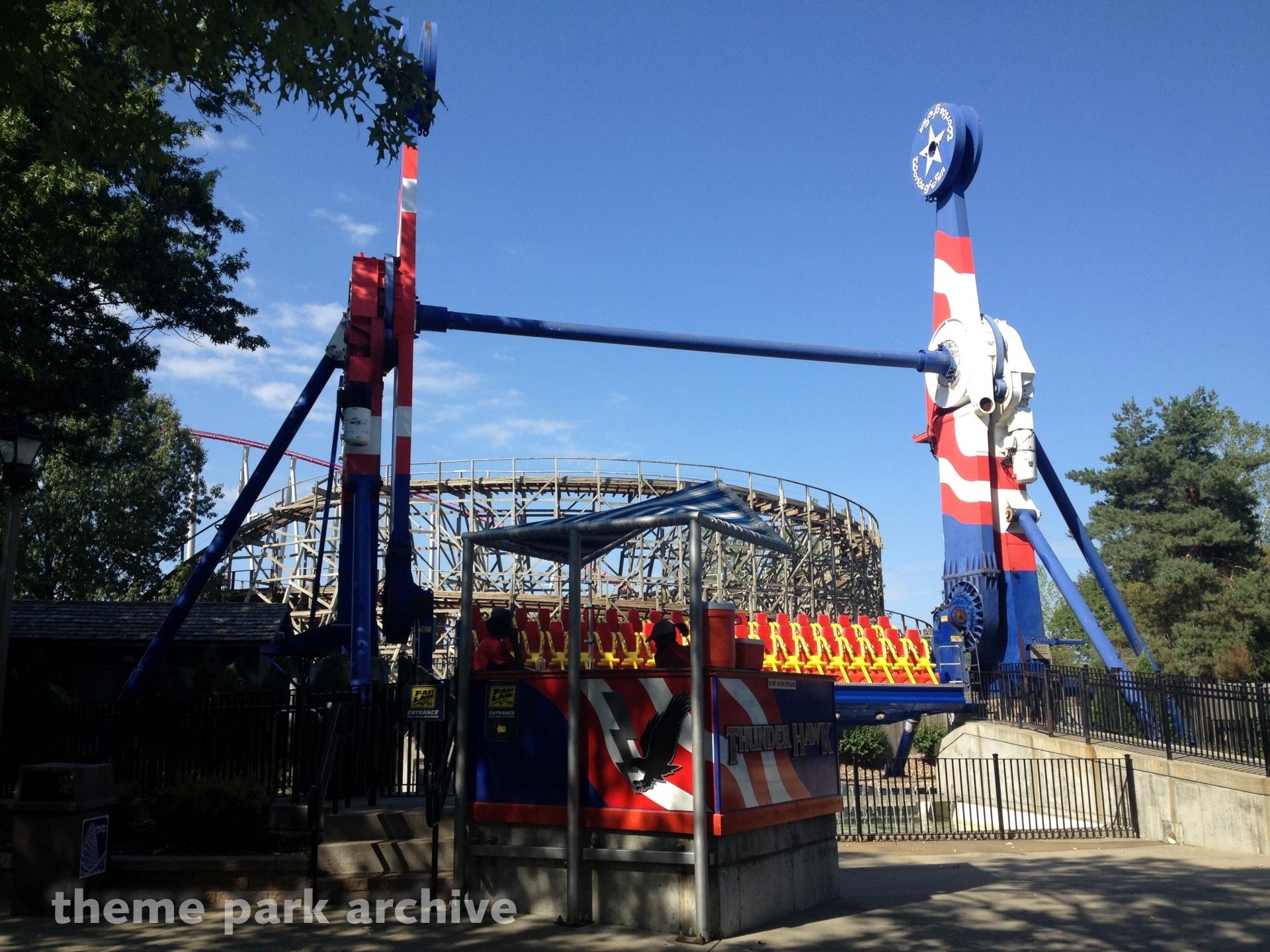 Thunderhawk at Worlds of Fun