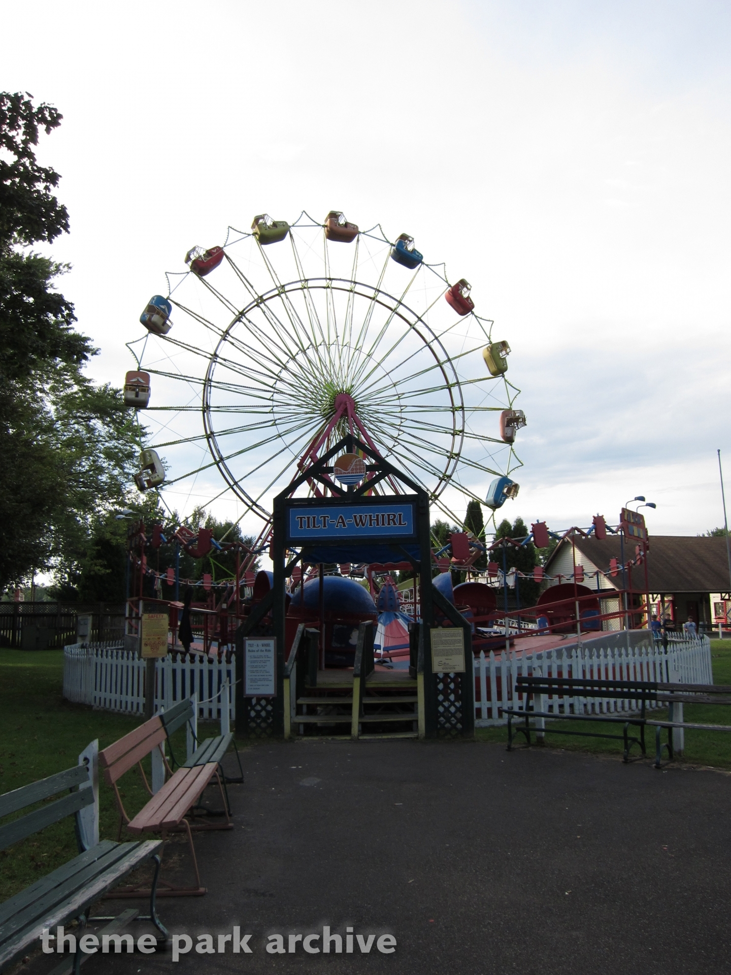 Tilt A Whirl at Conneaut Lake Park