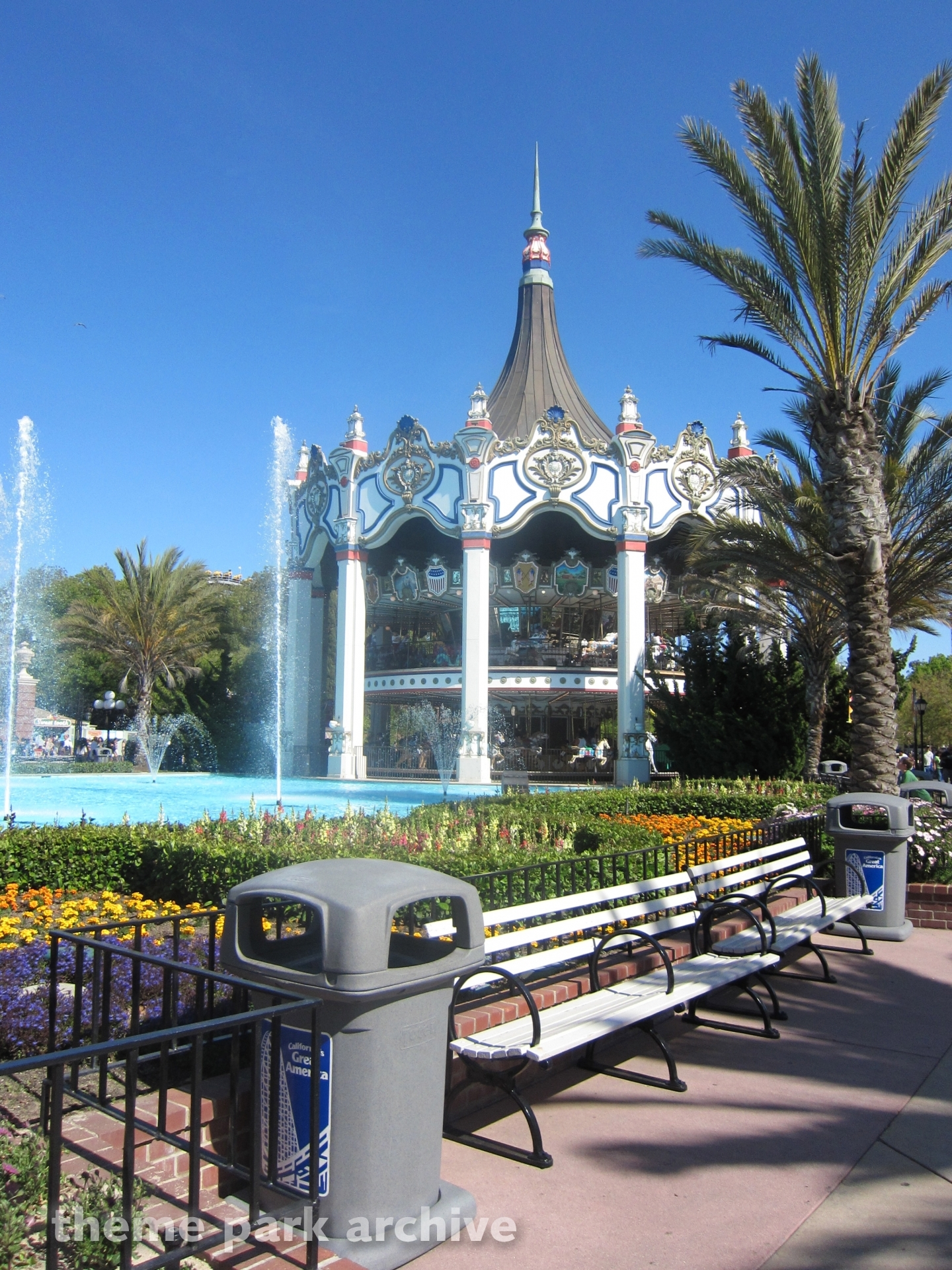 Carousel Columbia at California's Great America