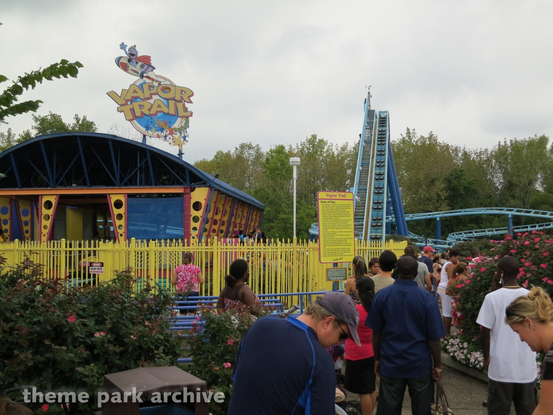 Vapor Trail at Sesame Place